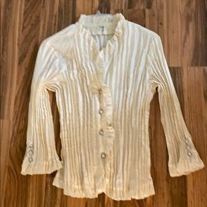 Beautiful dressy blouse by Angora.